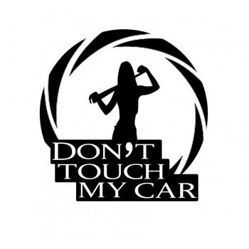 Don't touch my car (batte)